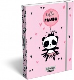 Lizzy Card Füzetbox A/5 Lollipop Hello Panda