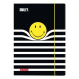 Herlitz Gumis mappa A4 Smiley B&Y Stripes
