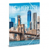 Ars Una A4 Gumis mappa Cities-New York (5042) 20