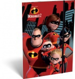 Lizzy Card Gumis mappa A/4 The Incredibles 2
