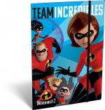 Lizzy Card Gumis mappa A/5 The Incredibles 2