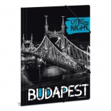Ars Una A4 Gumis mappa Budapest by night (858) 18