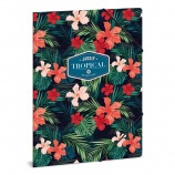 Ars Una A4 Gumis mappa Tropical wildblume (920) 19