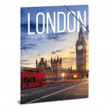 Ars Una A4 Gumis mappa Cities-London (927) 19